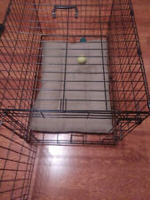 """36"""" Black Pet Folding Cage Kennel (Dog Bed and toys not included)"""