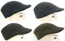 Peaked Flat Cap Country Style Tweed Winter Peaky Blinders Unisex Baker Boy £4.89