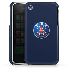 Apple iPhone 3Gs Premium Case Cover - PSG 3D Logo - blau