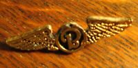 Beechcraft Aircraft Wings Lapel Pin - Vintage Private Airplane Pilot Corporation