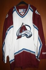 Maglia Shirt Trikot Jersey Colorado Avalanche Hockey CCM NHL Starter Vintage