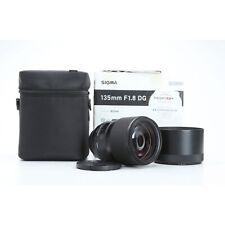 Canon Sigma Dg 1,8/135 HSM Art +New (229712)