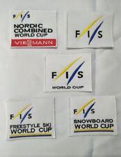 patch ecusson FIS  WORLD CUP FREESTYLE NORDIC COMBINE VIESSMAN  ffs esf ski