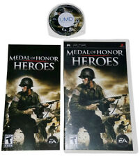 Medal of Honor Heroes (Sony PSP) Includes Booklet | Multi-Player Online | EA