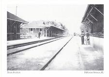 """DeFuniak Springs Train Station""  @ *DeFunaik Springs, FL. ('Postcard'#190)"