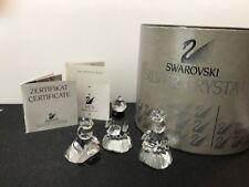 Swarovski Crystal Wise Men (Nativity) 7475 200 Original Box & COA LN Condition