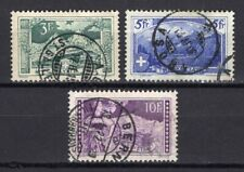 Schweiz 1914 Mi.-Nr. 121 - 123 Freimarken: Gebirgslandschaften (I) gestempelt o