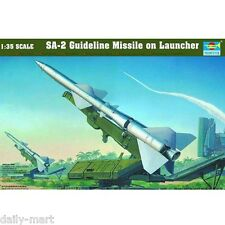Trumpeter 1/35 00206 SA-2 GUIDELINE MISSILE ON LAUNCHER Model Kit