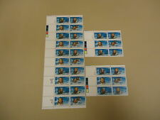 USPS Scott 2220-23 22c Polar Artic Explorers Lot of 3 Plate Block 32 Stamps