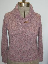 Christopher & Banks Long Sleeve Pull Over Purple Sweater Petite Size S #122