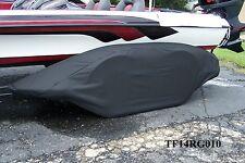 RANGER - Boat trailer fender/tire storage covers tandem fiberglass exact fit BLK