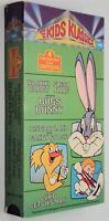 BUGS BUNNY VHS Wackiki Wabbit FRESH HARE Dingbat Land CUPID GETS HIS MAN Cartoon