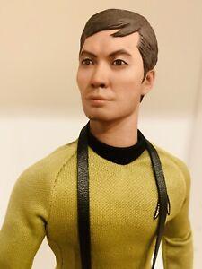 "Star Trek TOS Lt Sulu • QMX Master Series 1/6 Scale 12"" Figure"