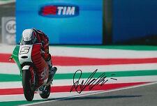 Romano Fenati mano firmato FOTO 12X8 VR46 TEAM KTM MOTO3 2015 11.