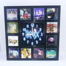 Styx Rock Band Wall Clock