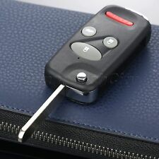 4 BTNS Flip Folding Keyless Entry Lock Remote Key Case Shell Fob for Honda Civic