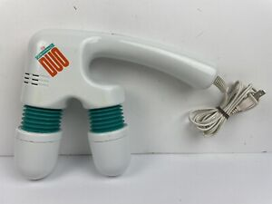 Homedics Dynamic Duo Twin Head Back Massager PM707 Tested Working PM-707