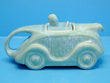 1920's-30's Art Deco Teapot - Stylised Racing Car with Driver