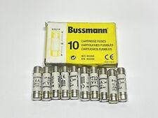 10 Pack Eaton Cooper Bussmann C10G4 10.3 x 38 mm Cartridge Fuse gG 4A 500VAC