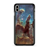 Colourful Smokey Space Explosion Red Starry Milky Way Sky 2D Phone Case Cover