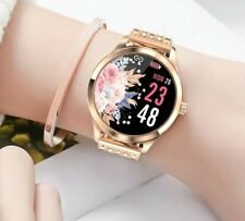 Fashion Women Lady Smart Watch Heart Rate Fitness Tracker For iOS Android