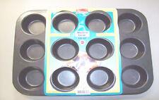 12 Loch MUFFINFORM BACKFORM antihaft Ilaflon Muffinförmchen Muffinblech Muffin