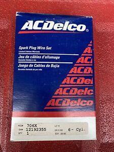 GM ACDelco 12192355  706X Spark Plug Wire Set 1995-99 Pontiac Firebird 3.8L V6