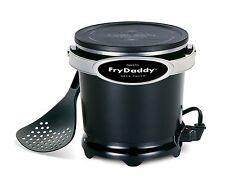 Presto 05420 FryDaddy Fry Daddy Electric Deep Fryer Kitchen Appliance Black New