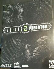 Alien vs Predator 2 Game Manual ONLY  PC