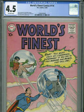 World's Finest #114 - December, 1960 - CGC 4.5 (Swan & Kaye cover)