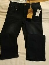 FlyPaper Boys Size 16 Dark Tint Denim Straight Leg Jeans with tags.  See pics