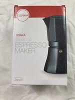 Osaka Pot Stovetop Espresso Coffee Maker Percolator - 9 Cups - FREE SHIP