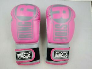 Women's Ringside Apex FTG1 Pink Boxing Gloves Size Small/Medium