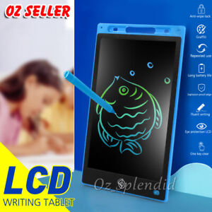 """8.5""""/ 10""""/ 12"""" LCD Writing Tablet Drawing Board Colorful Doodle Handwriting Pad"""