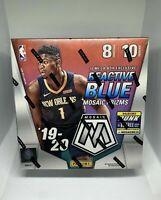 2019-20 Panini NBA Mosaic Mega Box Basketball Trading Cards Factory Sealed