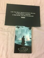 Dunkirk Screenplay With Storyboards And Pressbook Oscar FYC Christopher Nolan