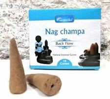 Encens en cônes Blackflow Nag Champa - 100% naturel