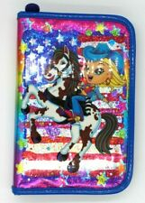 Vintage LISA FRANK Cowgirl Pony Mini Binder Planner Address Book Agenda Used