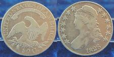 50 Cent, 1/2 Dollar 1828 USA  ss