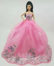 New clothes outfit princess wedding gown dress boutique costume for barbie