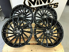 19 Zoll Ulta Wheels UA9 Felgen Schwarz 5x108 et45 Ford Focus ST RS 500 Kombi