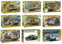 German Armored forces Tanks WW II Zvezda 1:35 Scale Models Kit Not painted