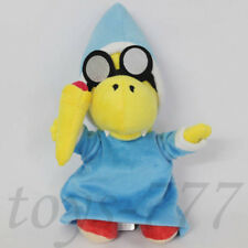 "Super Mario Bros. Magikoopa 7"" Plush Toy Tortoise wearing glasse Stuffed Animal"