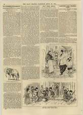 1892 Endsleigh Street Tusks Village Boys Provence Playing Barabbas