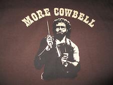 "WILL FERRELL ""MORE COWBELL"" (XL) T-Shirt BLUE OYSTER CULT"