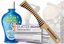 Das große Glatzen Geschenkset | Glatzen-Kamm, Glatzen-Politur & Glatzen-Shampoo
