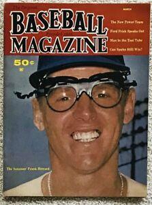 Frank Howard Ken McMullen a lot of 1960s Washington Senators memorabilia