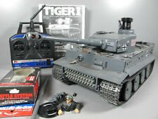 Tamiya 1/16 Tiger 1 Tank Full Option DMD T-03 MF-01 Futaba Battery Battle System