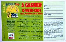Les toqués D' Astérix jeu 40 ans Goscinny Uderzo 1999 parc déjà 10 ans