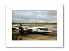 Mounted Photographic Print  - BOAC Comet at London Airport ( 10 x 12 inch)